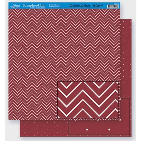 Scrapbook-Folha-Dupla-Face-Abstrato-SD-300-Litoarte