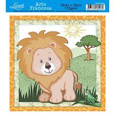 Papel-Arte-Francesa-Litoarte-Leao-AFXV-081