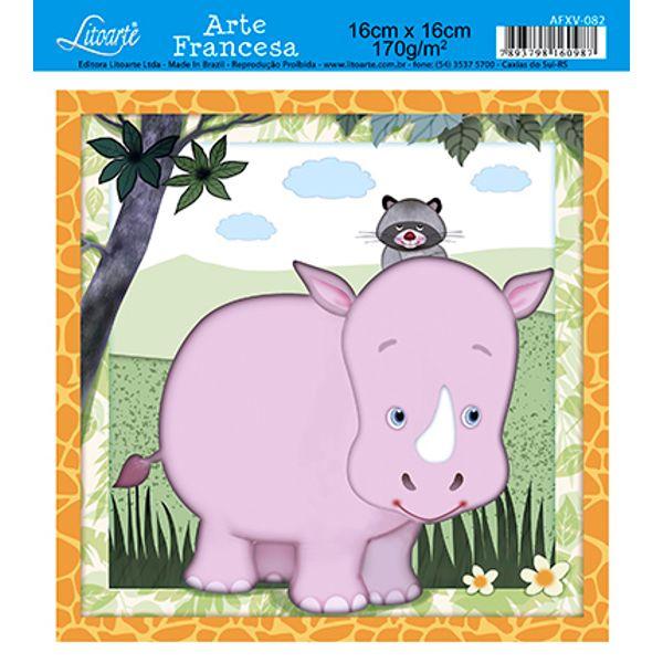 Papel-Arte-Francesa-Litoarte-Hipopotamo-AFXV-082