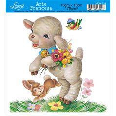 Papel-Arte-Francesa-Litoarte-Cachorro-AFXV-059