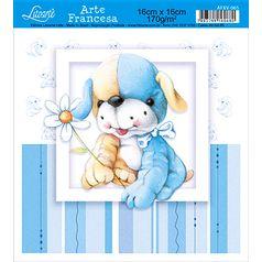 Papel-Arte-Francesa-Litoarte-Ursinho-AFXV-065