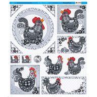 Tecido-Decoupage-40x47cm-Galinha-TL-001---Litoarte