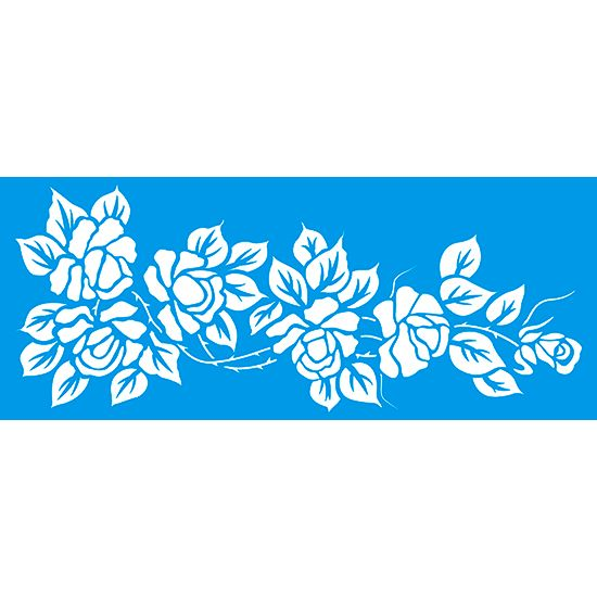 Stencil-Grande-Flores-17x42-STG-048-Litoarte