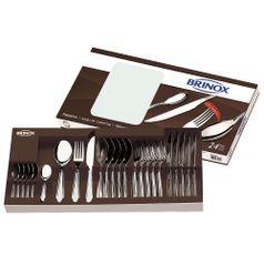 Faqueiro-Bellagio-24-pecas-Aco-Inox-5103-102---Brinox