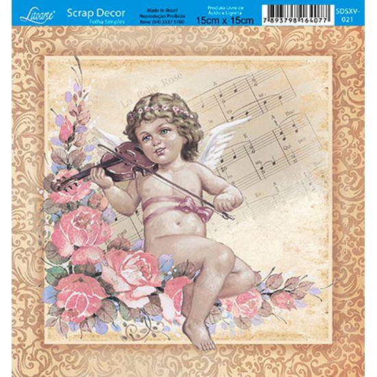 Papel-Scrap-Decor-Folha-Simples-15x15-Anjo-SDSXV-021---Litoarte
