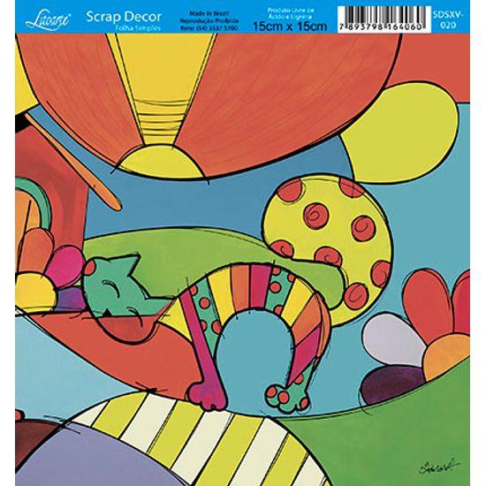 Papel-Scrap-Decor-Folha-Simples-15x15-Abstrato-SDSXV-020---Litoarte