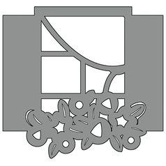 Aplique-em-Chipboard-Scrap-Formas-Cardboard-Janela-SFC6-004-Litoarte