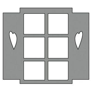 Aplique-em-Chipboard-Scrap-Formas-Cardboard-Janela-SFC2-003-Litoarte