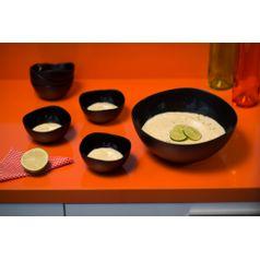 Saladeira-Ovalada-2L-Preta-em-Polipropileno-UZ102-PR---UZ-Utilidades