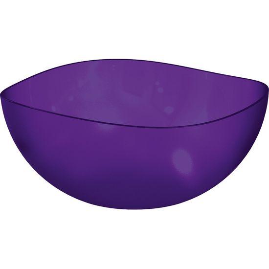 Saladeira-Ovalada-3L-Roxo-em-Poliestireno-UZ105-RX---UZ-Utilidades