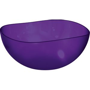 Saladeira-Ovalada-2L-Roxo-em-Poliestireno-UZ106-RX---UZ-Utilidades