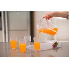 Copo-300ml-Transparente-em-Poliestireno-UZ114-TR---UZ-Utilidades