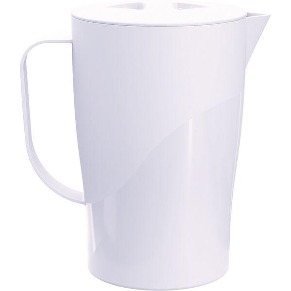 Jarras-2L-Branco-Solido-em-Polipropileno-UZ134-BR---UZ-Utilidades