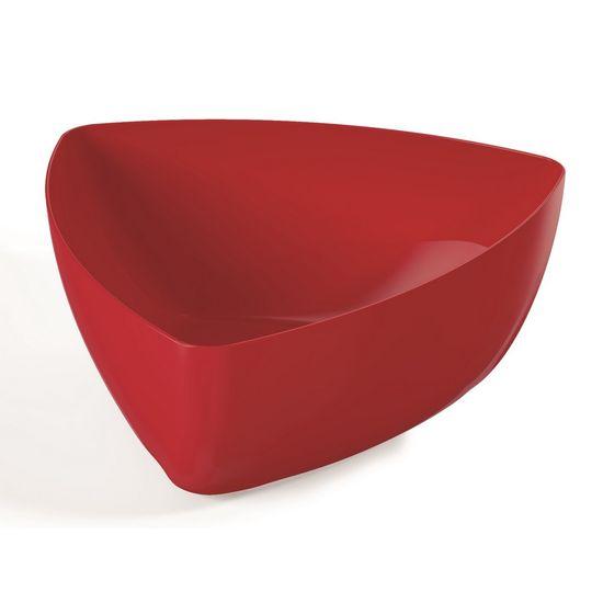Saladeira-Oval-4L-Plus-Vermelha-em-Polipropileno-UZ169-VM---UZ-Utilidades