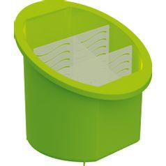 Porta-Talheres-Separador-e-Organizador-Verde-Claro-UZ314-VCL---UZ-Utilidades