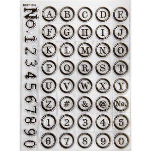 Carimbo-de-Silicone-II-Vintage-Letras-e-Numeros-14x18-CAS133-TEC