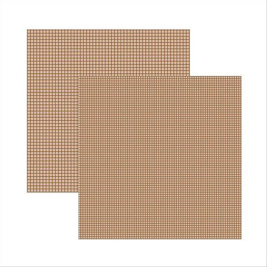 Scrap-Basico-Rosa-Chocolate-Xadrez-Duplo-KFSB290-Toke-e-Crie