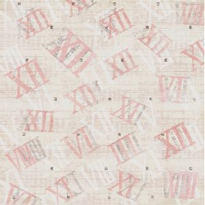 Papel-Scrapbook-Simples-Vintage-Relogios-Numericos-KFS078-Toke-e-Crie
