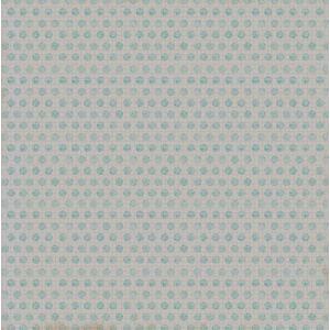 Papel-Scrapbook-Simples-Vintage-Turquesa-Poa-KFS080-Toke-e-Crie