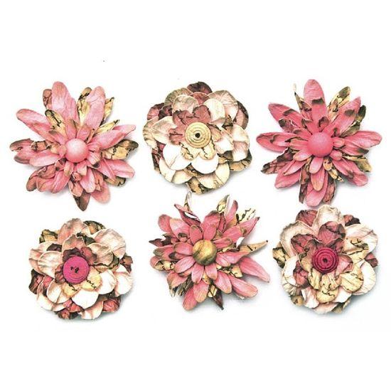 Flores-Artesanais-Vintage-Manuscrito-II-Rosa-Flores74-Toke-e-Crie