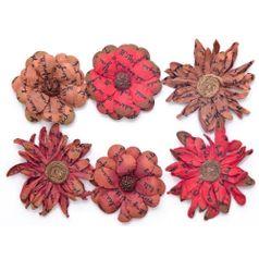 Flores-Artesanais-Vintage-Manuscrito-I-Vermelha-Flores73-Toke-e-Crie