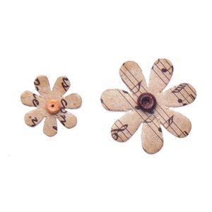 Flores-Artesanais-Vintage-Kraft-Margaridas-Flor81-Toke-e-Crie