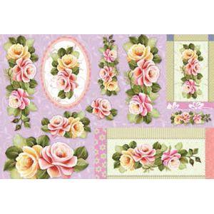Papel-Decoupage-Grande-Flores-LD746---Litocart-