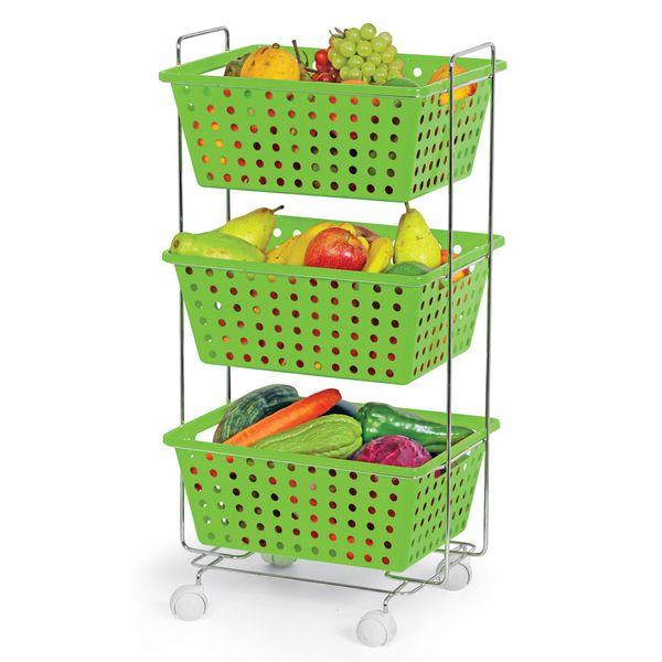 Fruteira---Organizador-Itapua-Triplo-Retangular-Verde-362-3---Niquelart