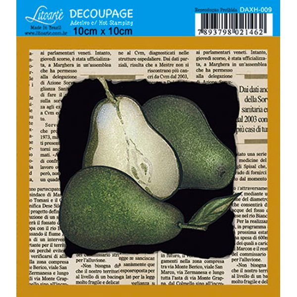 Decoupage-Adesiva-Q-Hot-Stamp-DAXH-009-Litoarte-