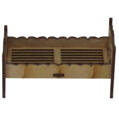 Cama-de-Solteiro-Arabescos-Miniatura---MDF-a-Laser