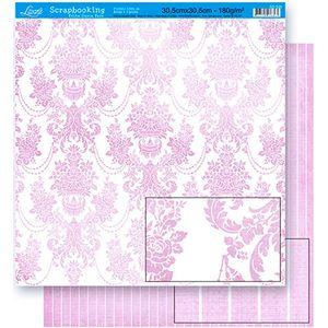Scrapbook-Folha-Dupla-Face-SD-025-Litoarte-