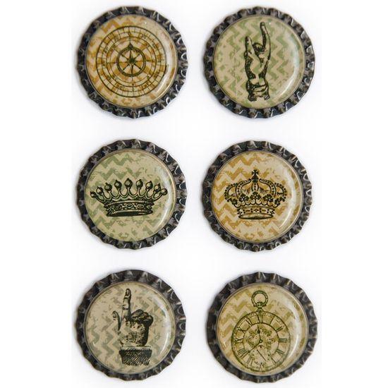 Aplique-Metalico-Tampinhas-Adesivadas-Coroas-Vintage-AM127---Toke-e-Crie-