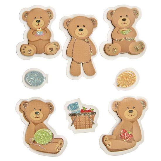Adesivo-FM-com-Glitter-Mini-Ursos-AD1503---Toke-e-Crie