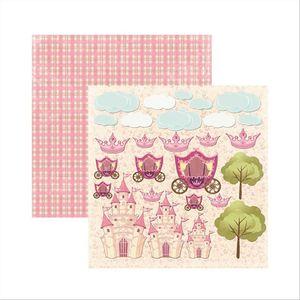 Papel-Scrapbook-Princesa-Encantada-Recortes-SDF467---Toke-e-Crie