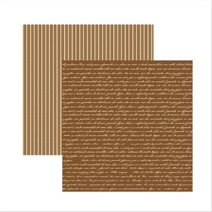 Papel-Scrapbook-Classic-Manuscrito-Marrom-KFSB307---Toke-e-Crie