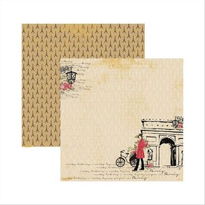 Papel-Scrapbook-Paris-Fashion-Arco-SDF473---Toke-e-Crie