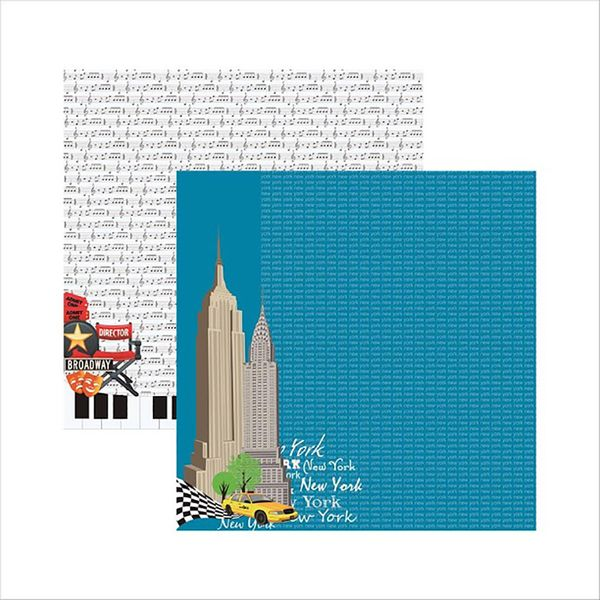 Papel-Scrapbook-New-York-Predios-SDF478---Toke-e-Crie