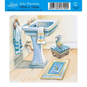 Decoupage-Adesiva-Litoarte-Banheiro-AFX-361---Litoarte-