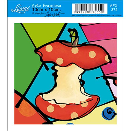 Decoupage-Adesiva-Litoarte-Maca-AFX-372---Litoarte