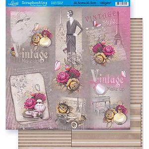 Scrapbook-Folha-Dupla-Face-Flores-SD-321---Litoarte-