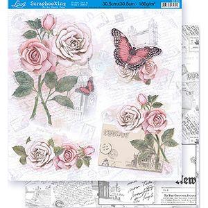 Scrapbook-Folha-Dupla-Face-Flores-SD-324---Litoarte