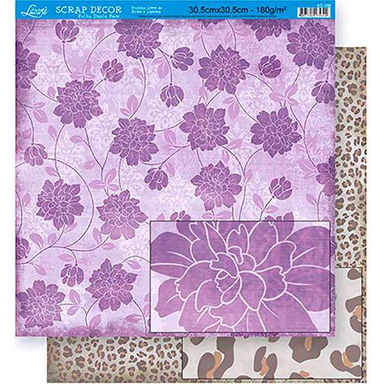 Scrapbook-Folha-Dupla-Face-Flores-SD-356---Litoarte-