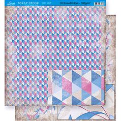 Scrapbook-Folha-Dupla-Face-Abstrato-SD-358---Litoarte