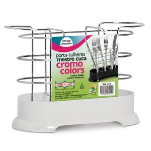 Porta-Talheres-Mestre-Cuca-Cromo-Colors-Branco-334-4---Niquelart