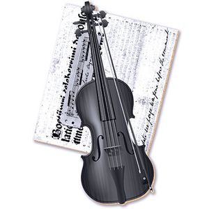 Decoupage-Aplique-em-Papel-e-MDF-Violino-APM8-166---Litoarte