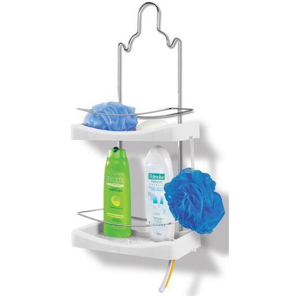 Porta-Shampoo-Duplo-Cromo-Colors-Aco-e-Plastico-Branco-349-4---Niquelart