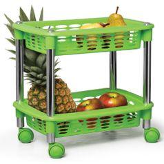 Fruteira---Organizador-Cromo-Colors-Duplo-Retangular-Verde-353-3---Niquelart