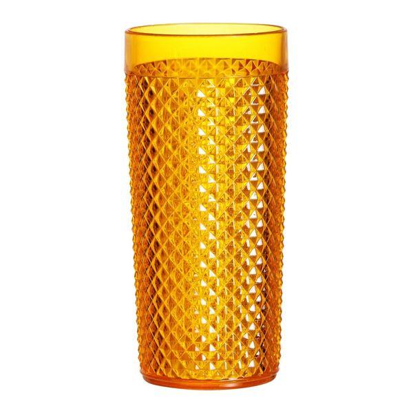 Copo-Diamante-500ml-Plastico-Crystal-Laranja-438-2---Niquelart
