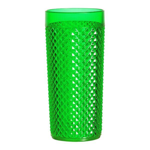 Copo-Diamante-500ml-Plastico-Crystal-Verde-438-3---Niquelart
