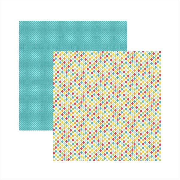 Papel-Scrapbook-Dupla-Face-Aniversario-Losangos-SDF483---Toke-e-Crie-by-Ivana-Madi